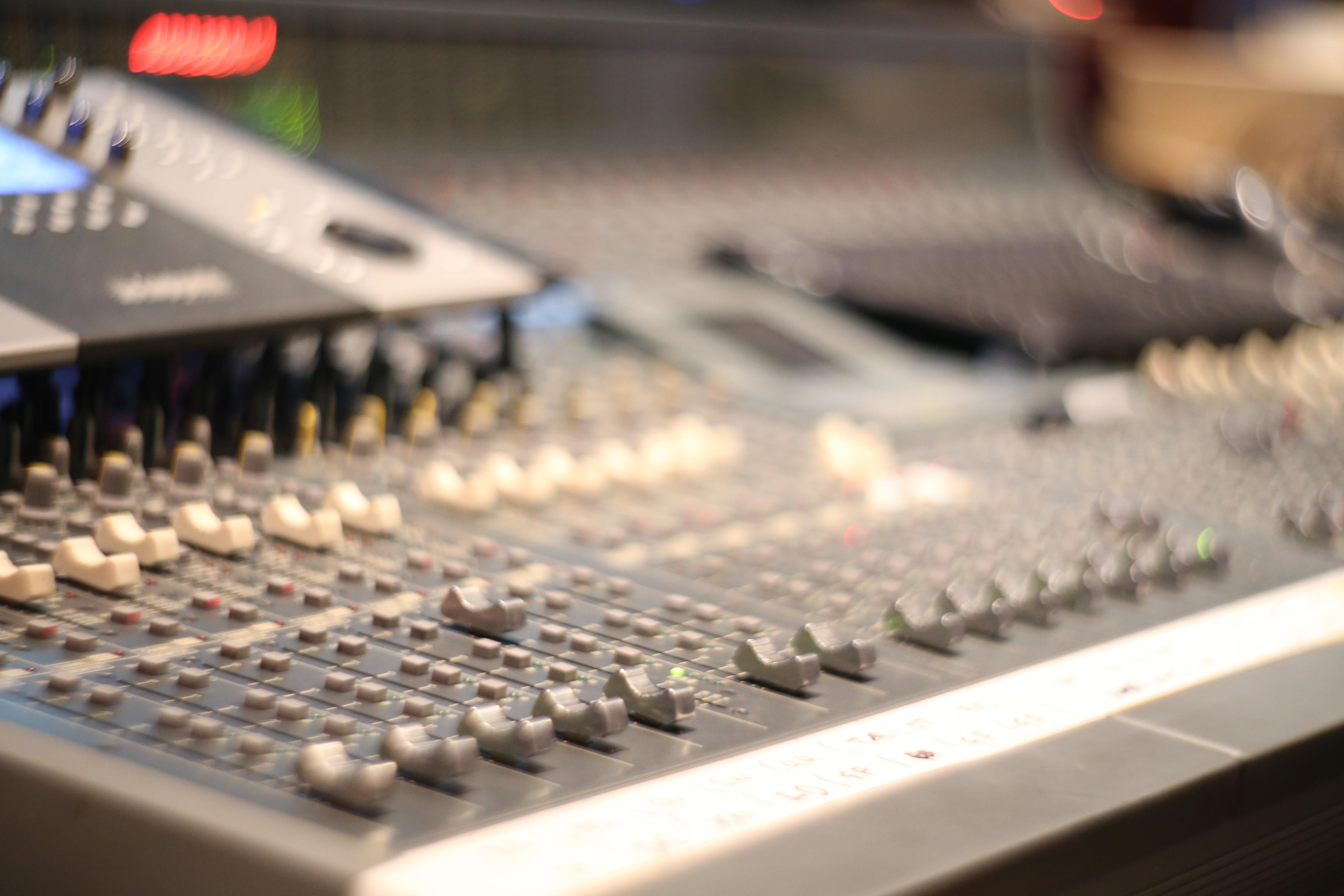 Studio-Mischpult