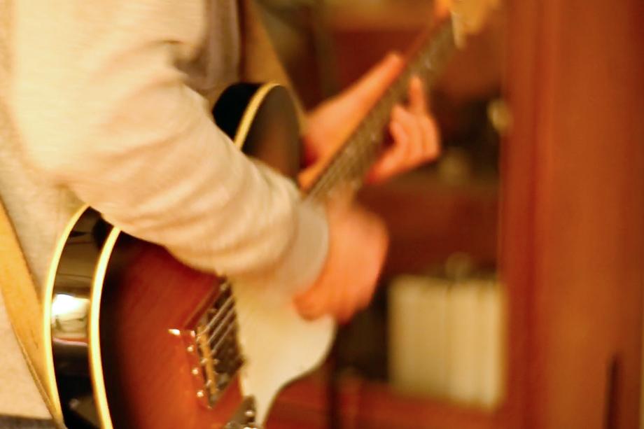 Studioaufnahme: Gitarre