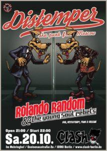 Clash Berlin Rolando Random Distemper